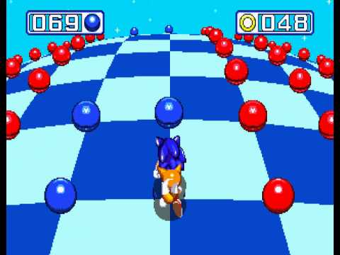 Sonic the Hedgehog 3 - Sega Genesis - sixth emerald and a perfect (all rings collected) - User video