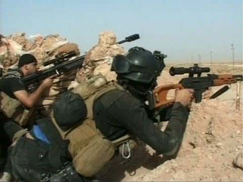 Raw: Iraqi Troops Battle ISIL Militants