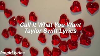 Download Lagu Call It What You Want    Taylor Swift Lyrics Gratis STAFABAND