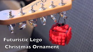 Lego Christmas Tree Ornament (with instructions!)