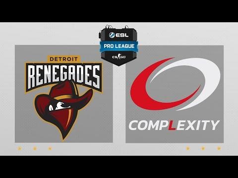 CS:GO - Renegades vs. compLexity [Cache] Map 1 - ESL Pro League Season 5 - NA Matchday 9