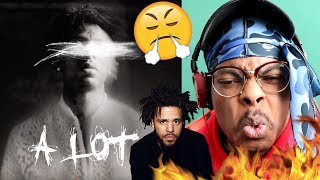J. COLE THROWING SHOTS! | 21 Savage - A Lot | Reaction