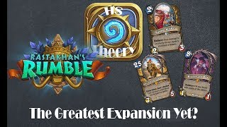 Hearthstone Theory: Rastakhan's Rumble Announcement Analysis