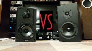 Buchardt S300 vs Sony SS-CS5 Sound Demo