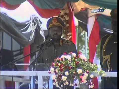 Salva Kiir's speech on the day of Sudan People's LiberationArmy 1