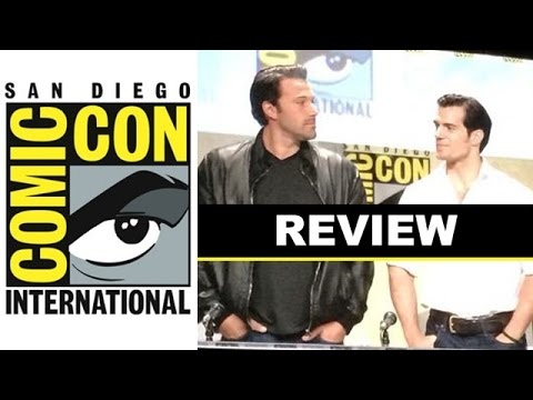 Comic Con 2014 - Batman vs Superman with Ben Affleck, Henry Cavill & Gal Gadot : Beyond The Trailer