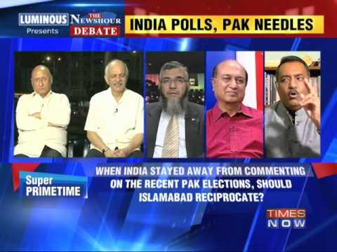 The Newshour Debate: India polls, Pakistan needles - Part 2 (30th April 2014)