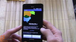 Samsung INFUSE 4G (AT&T) unboxing and video tour (part 1 of 2)