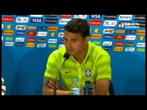 Thiago Silva se emociona ao falar sobre Copa do Mundo em casa