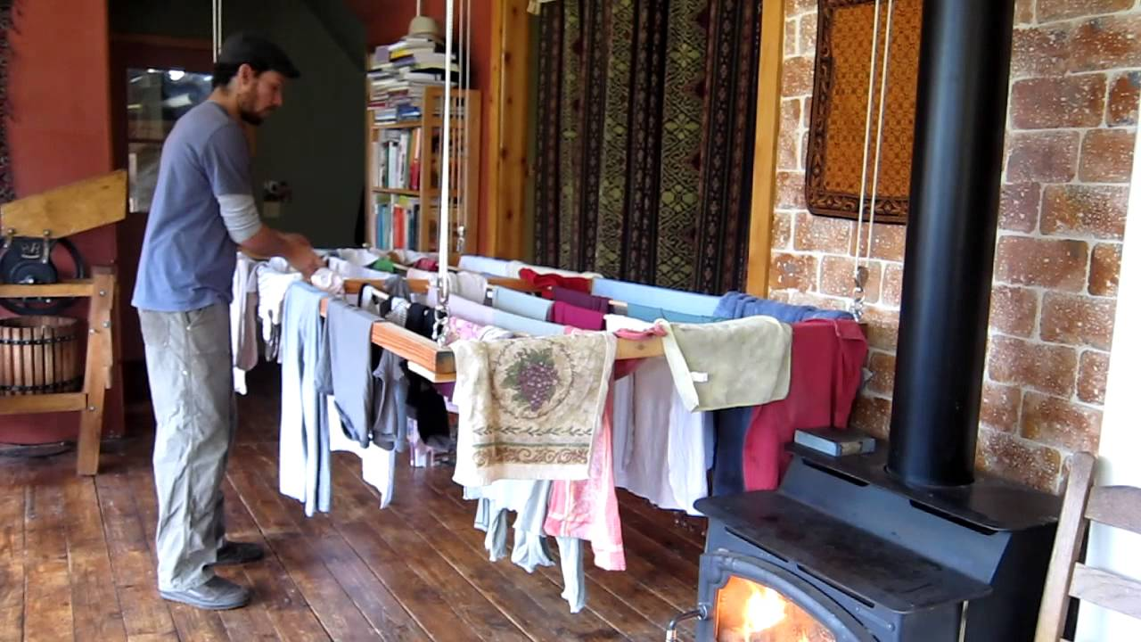 The Ultimate Laundry Drying Rack - YouTube