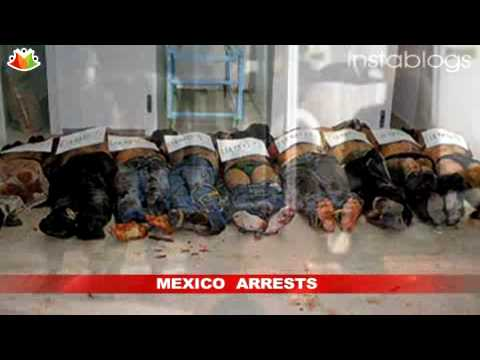 Mexico drug war: leader of gulf cartel zetas arrested Video
