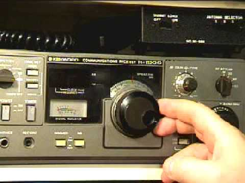 Kenwood R 1000 Ham Radio