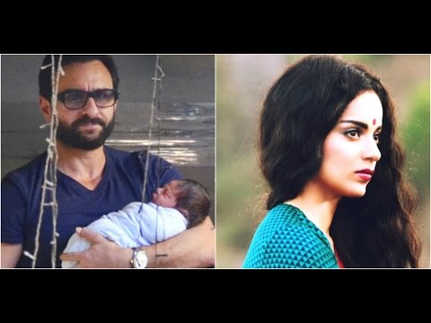 Saif Is On A Month's Paternity Leave | Kangana Waiting For An Opportunity To Work With Aamir