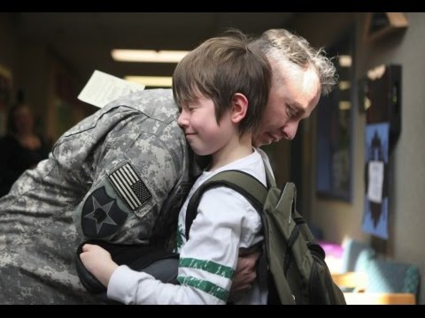 Military Homecoming Surprises 2014