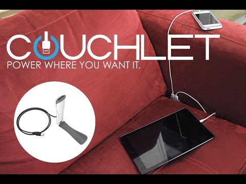 Meet Couchlet, the device that turns your couch into a charging station