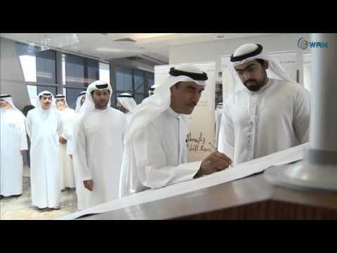 حمدان بن مبارك يشارك في مبادرة طلابية بجامعة الامارات .