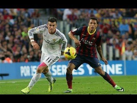 Gareth Bale vs Barcelona (H) (English Commentary) 13-14 HD 720p