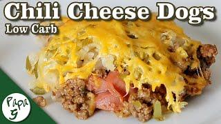 Chili Cheese Dog Casserole – Low Carb Keto Casserole Recipe