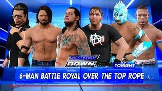 Baron Corbin vs. Kalisto vs. AJ Styles vs. John Cena vs. Dean Ambrose vs. The Miz