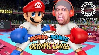 MARIO OUT HERE DOING KARATE!! LET'S GO!!! [MARIO & SONIC: 2020 TOKYO OLYMPIC GAMES]