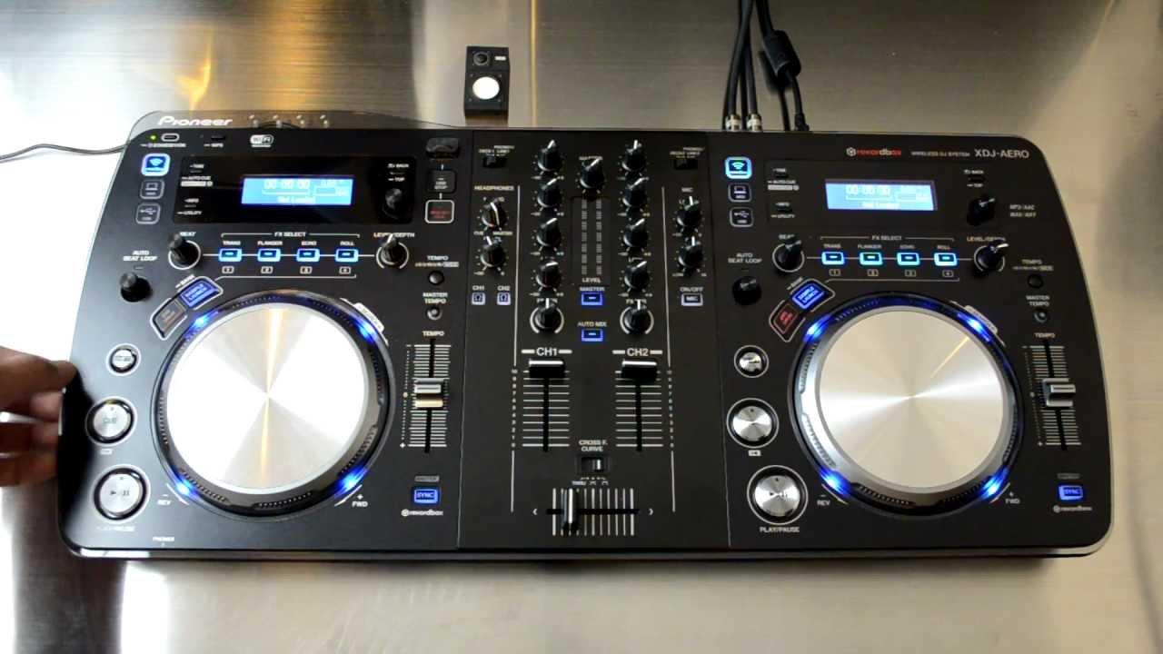 Pioneer Xdj Aero Wireless Dj Mixstation Review Video Youtube