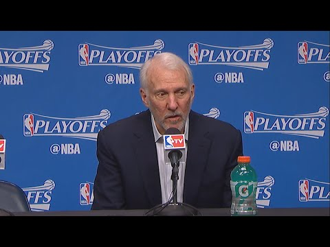 Gregg Popovich Postgame Interview | Spurs vs Grizzlies | Game 3 | April 22, 2016 | NBA Playoffs