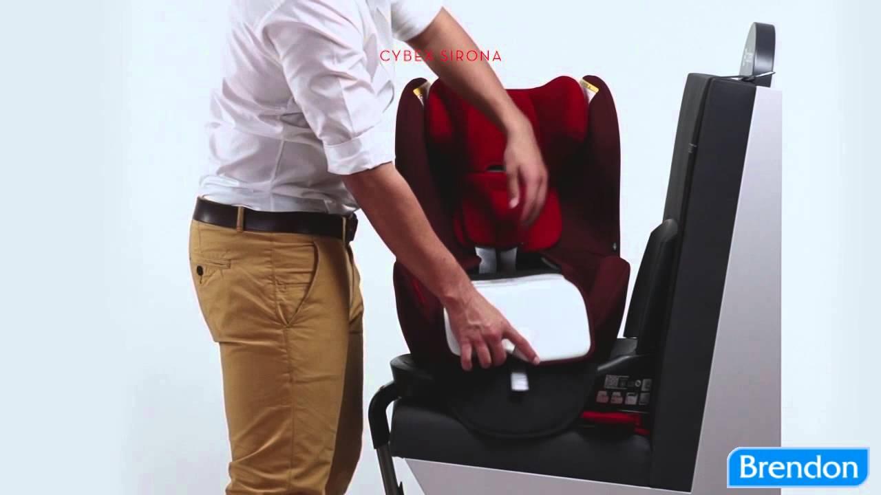 cybex sirona plus gyermek l s youtube. Black Bedroom Furniture Sets. Home Design Ideas
