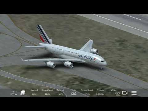 Pushback+Taxi+Take-Off at Los Angeles International Airport #1 (Infinite Flight)