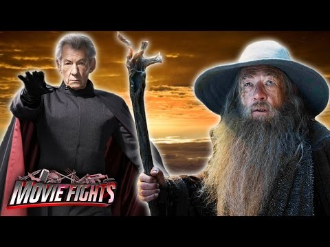 Magneto vs. Gandalf - Best Ian McKellen Movie - MOVIE FIGHTS!