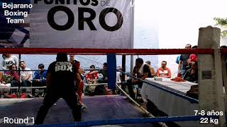 Christopher Luca vs. Jared Morales. 3a. jornada de Puñitos de Oro 2019.