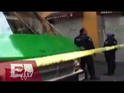 Mujer muere al interior de un micro en la Ciudad de México / Excélsior informa