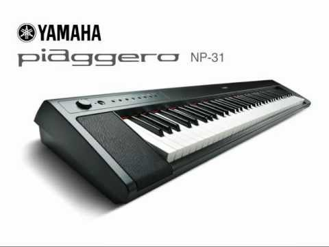 Yamaha np 31 digital piano demo youtube for Yamaha digital piano dealers