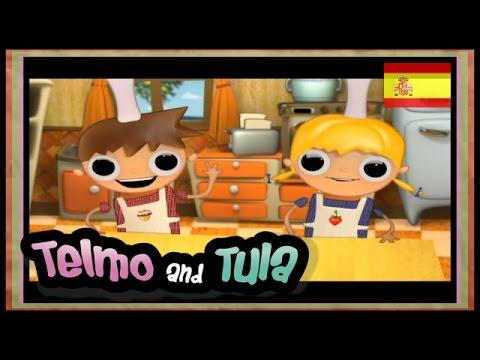 Telmo y Tula - Tostadas de Manzana - Recetas Telmo y tula, serie de animación