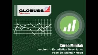 Minitab - Estadística Descriptiva