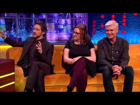James McAvoy - The Jonathan Ross Show S07E07/2014.11.29