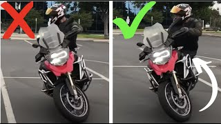 How To U-Turn Any Motorcycle! ~ MotoJitsu