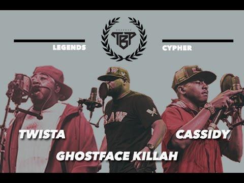 Twista, Ghostface Killah & Cassidy Legends Cypher rap music videos 2016