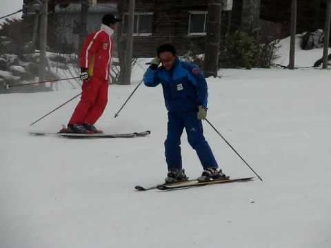 2008年12月6日(土) 山形蔵王温泉スキー場 上の台ゲレンデ ベースにてスキー場開きの式典