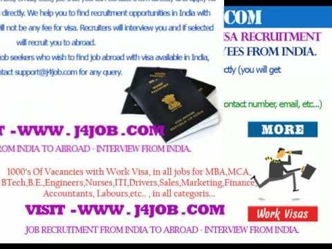 Dubai free visa recruitment , Dubai job visa , Dubai vacancy recruitment from India