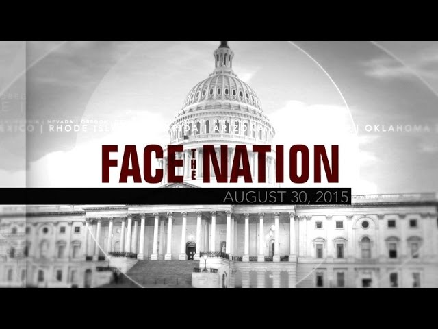 Open: This is Face the Nation, August 30