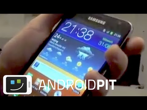 AndroidPIT: Samsung Galaxy Note Exclusive Preview