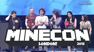 On Stage With Friends! Minecon 2015 London! Vlog 2