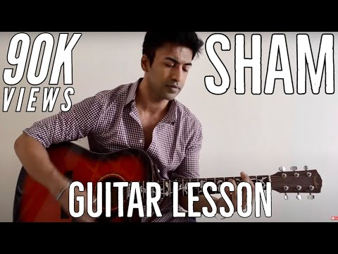 #34 - Sham (Aisha) - Guitar lesson - Complete and Accurate : Chords in description