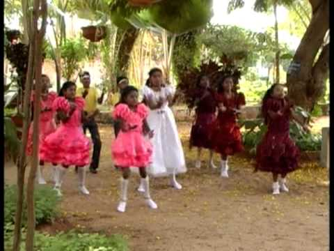 Traditional Style Dance From Tamilnadu, Children's Playing Dance, Christian Tamil Songs -vbs video