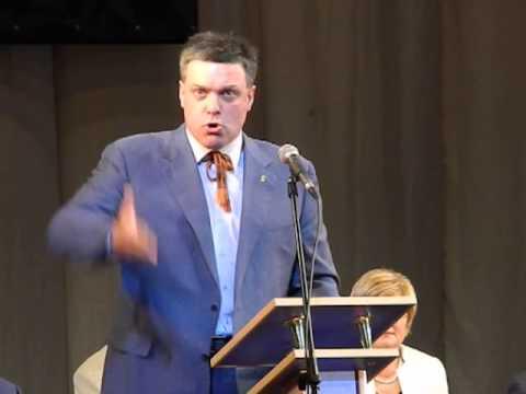 Виступ Олега Тягнибока на Х Світовому конгресі українців
