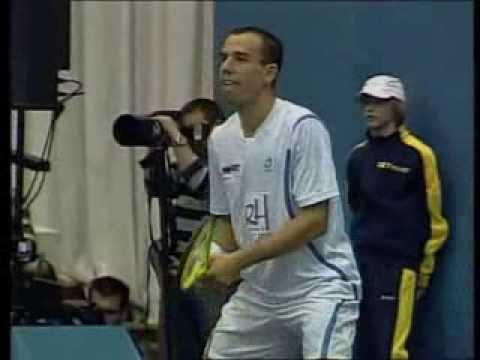 Tennis Classic 2008: Pete Sampras & Dominik Hrbaty, An exhibition in Bratislava