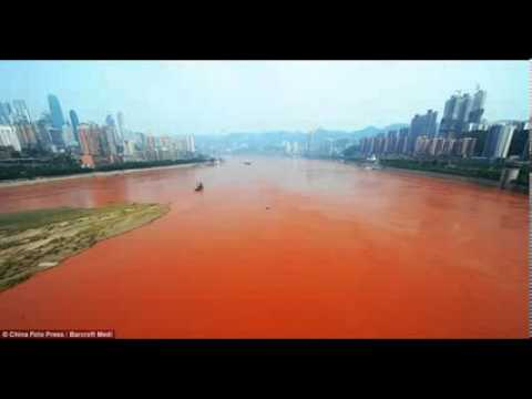 Yangtze River Turns Blood Red (Bible Prophecy)