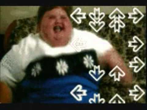 Little Fat Kid Dancing Video