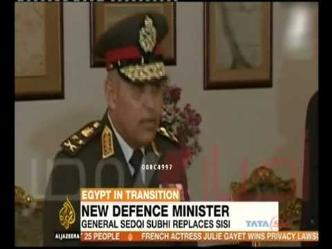 Egypt's new military chief sworn in