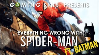 Everything Wrong With Spider-Man (2018) in 10 Minutes or Less | Feat. Batman